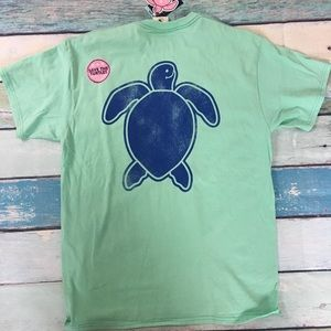Simply Southern Green Turtle Shirt